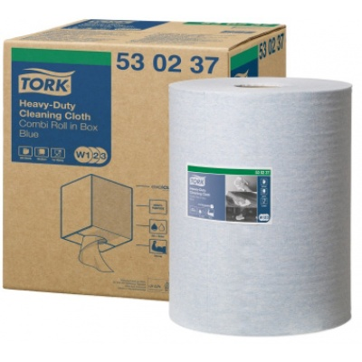 TORK PREMIUM CLOTH 530 BLUE - 1 RL